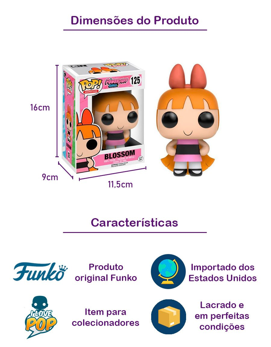 Funko POP Blossom 125