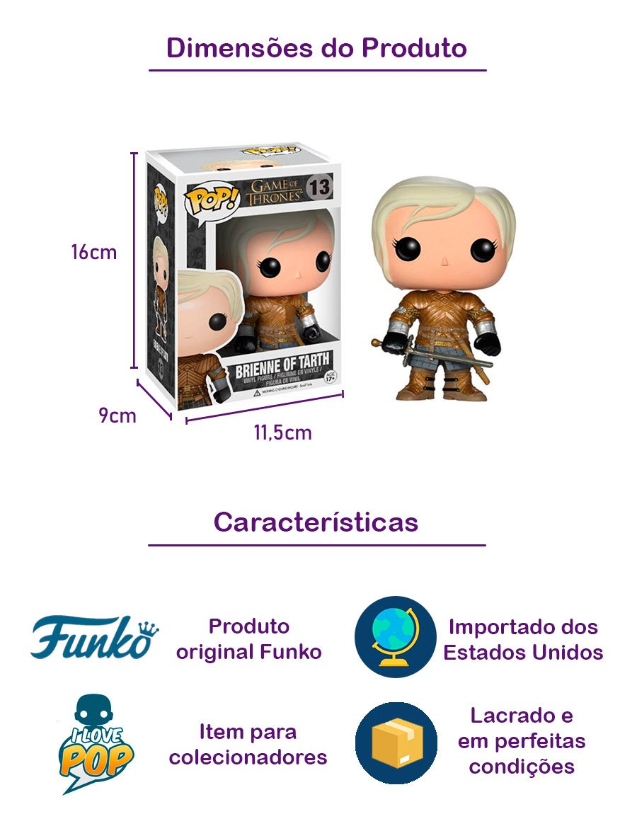 Funko POP Brienne of Tarth 13