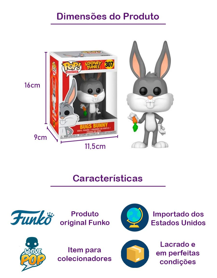 Funko POP Bugs Bunny 307