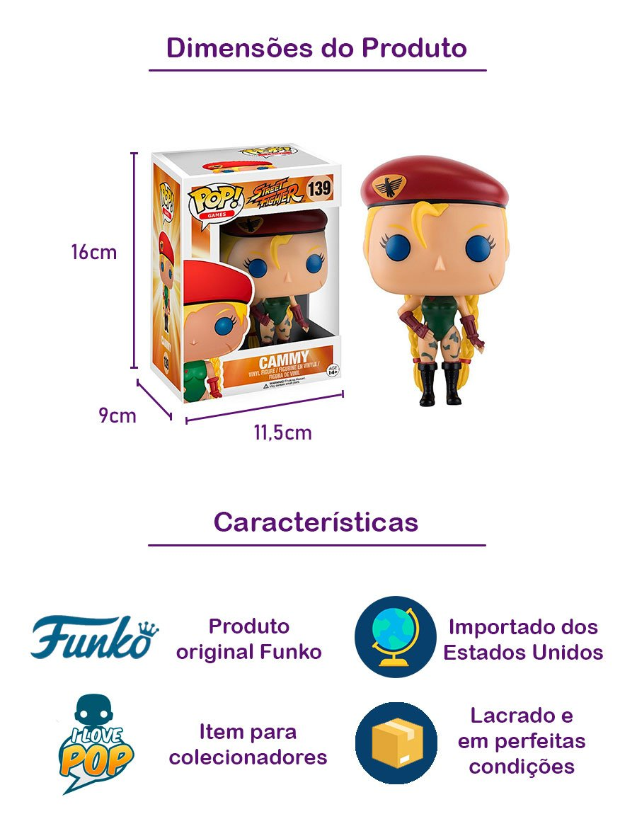 Funko POP Cammy 139