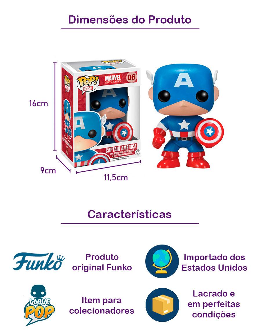 Funko POP Captain America 06