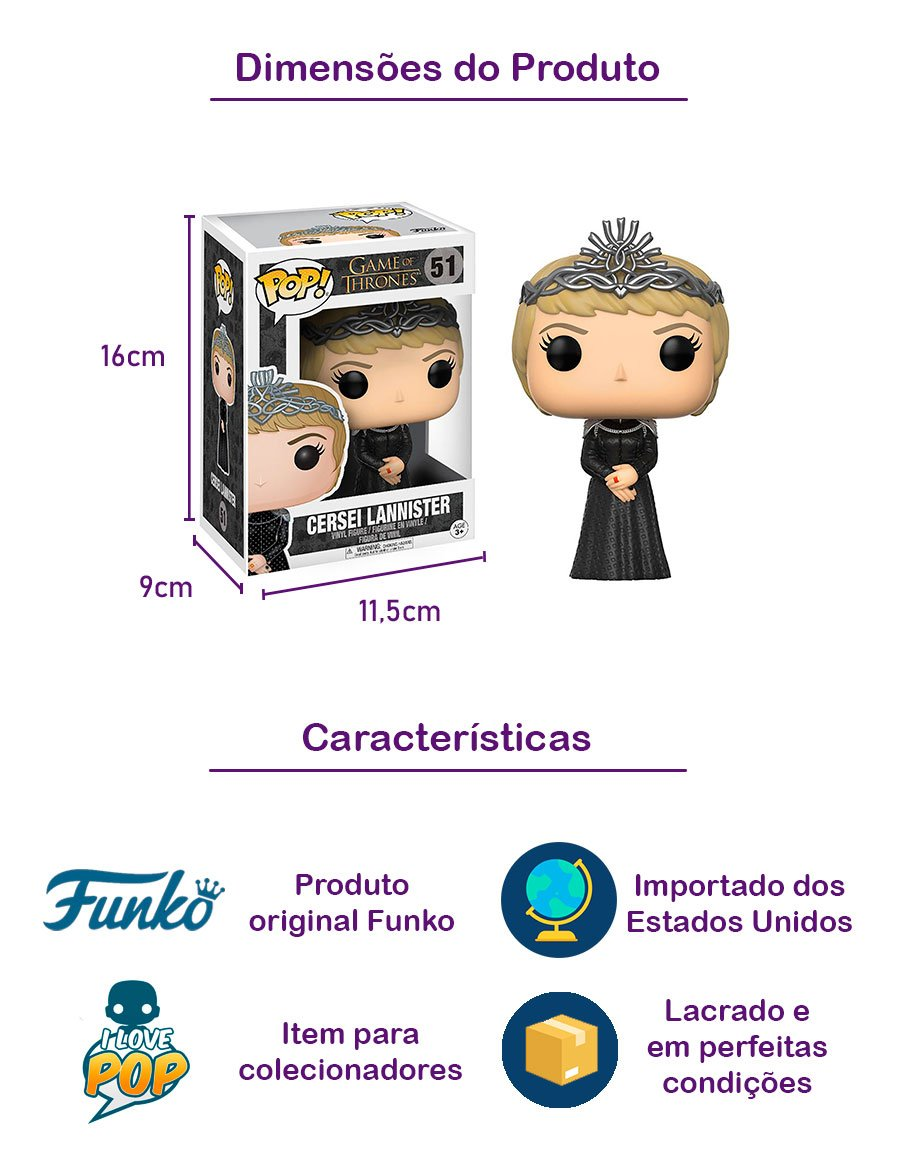 Funko POP Cersei Lannister 51