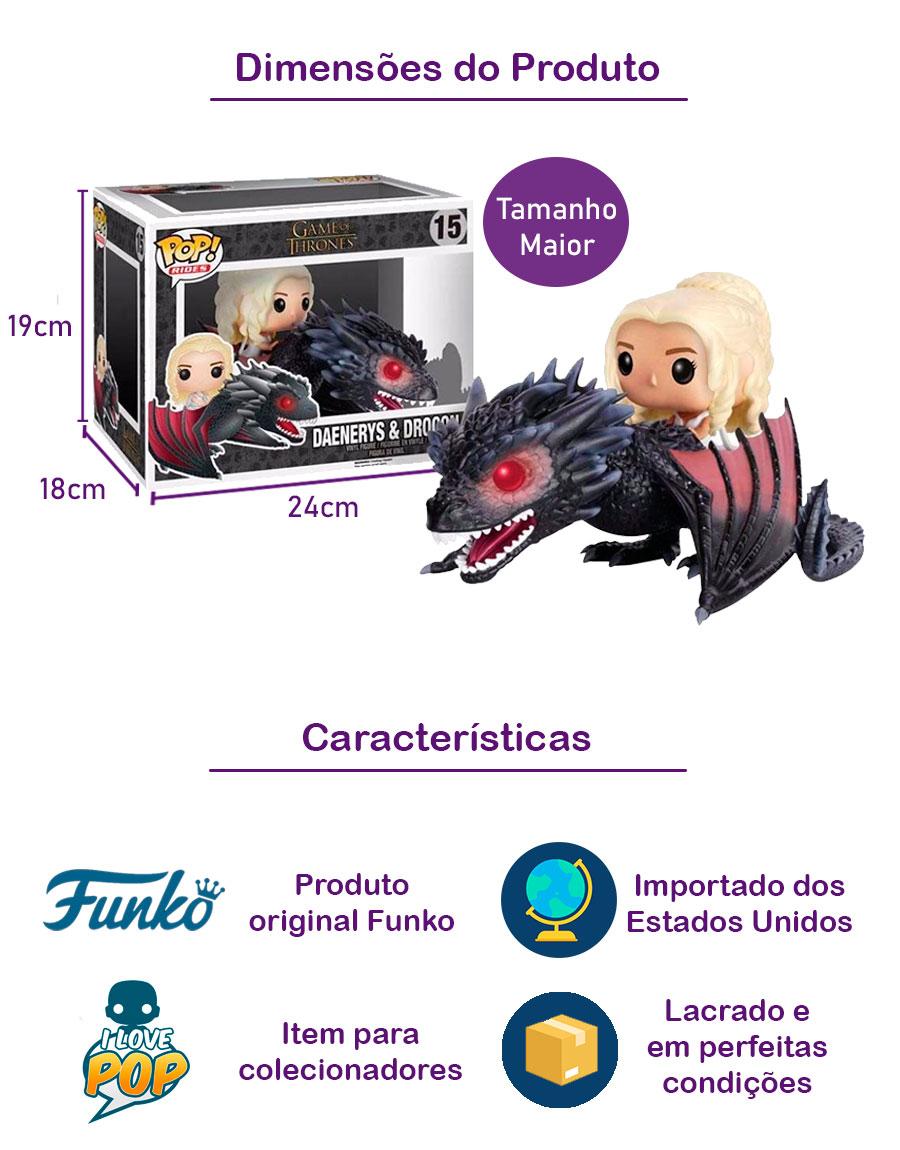 Funko POP Daenerys & Drogon 15
