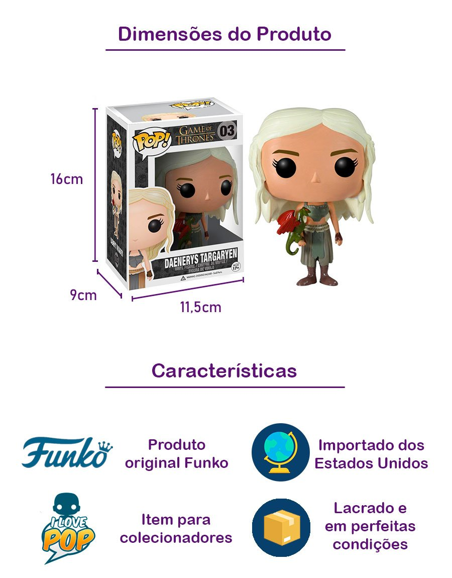 Funko POP Daenerys Targaryen 03