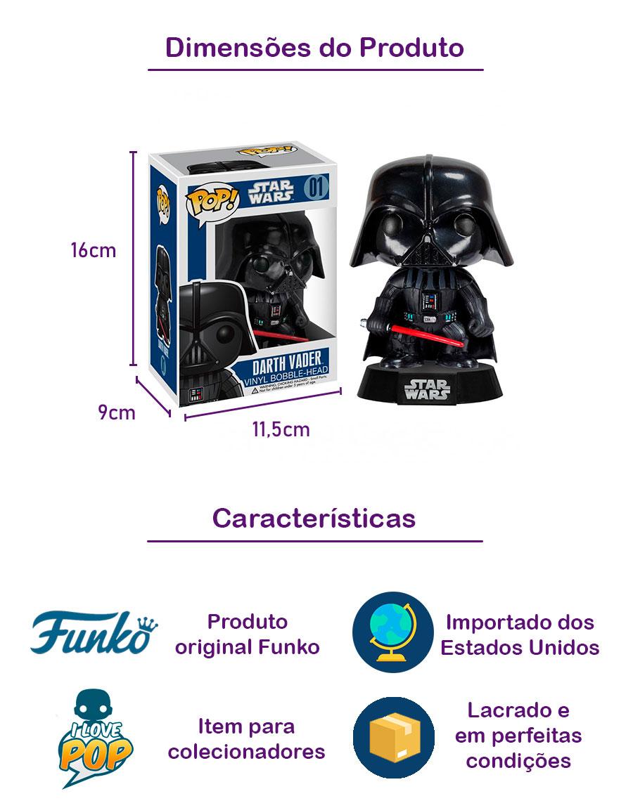 Funko POP Darth Vader 01