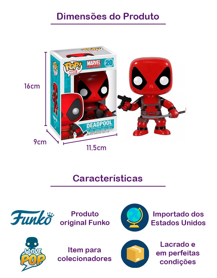 Funko POP Deadpool 20