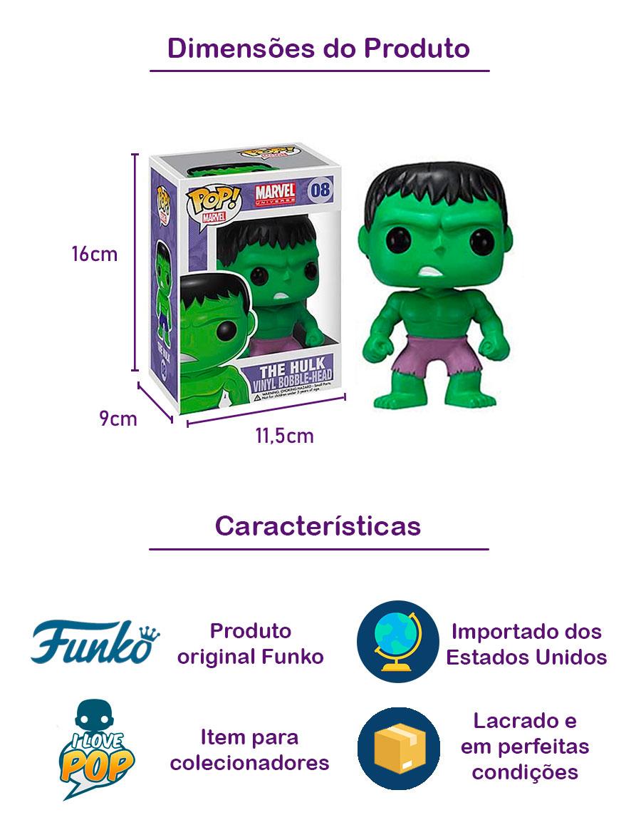 Funko POP Hulk 08