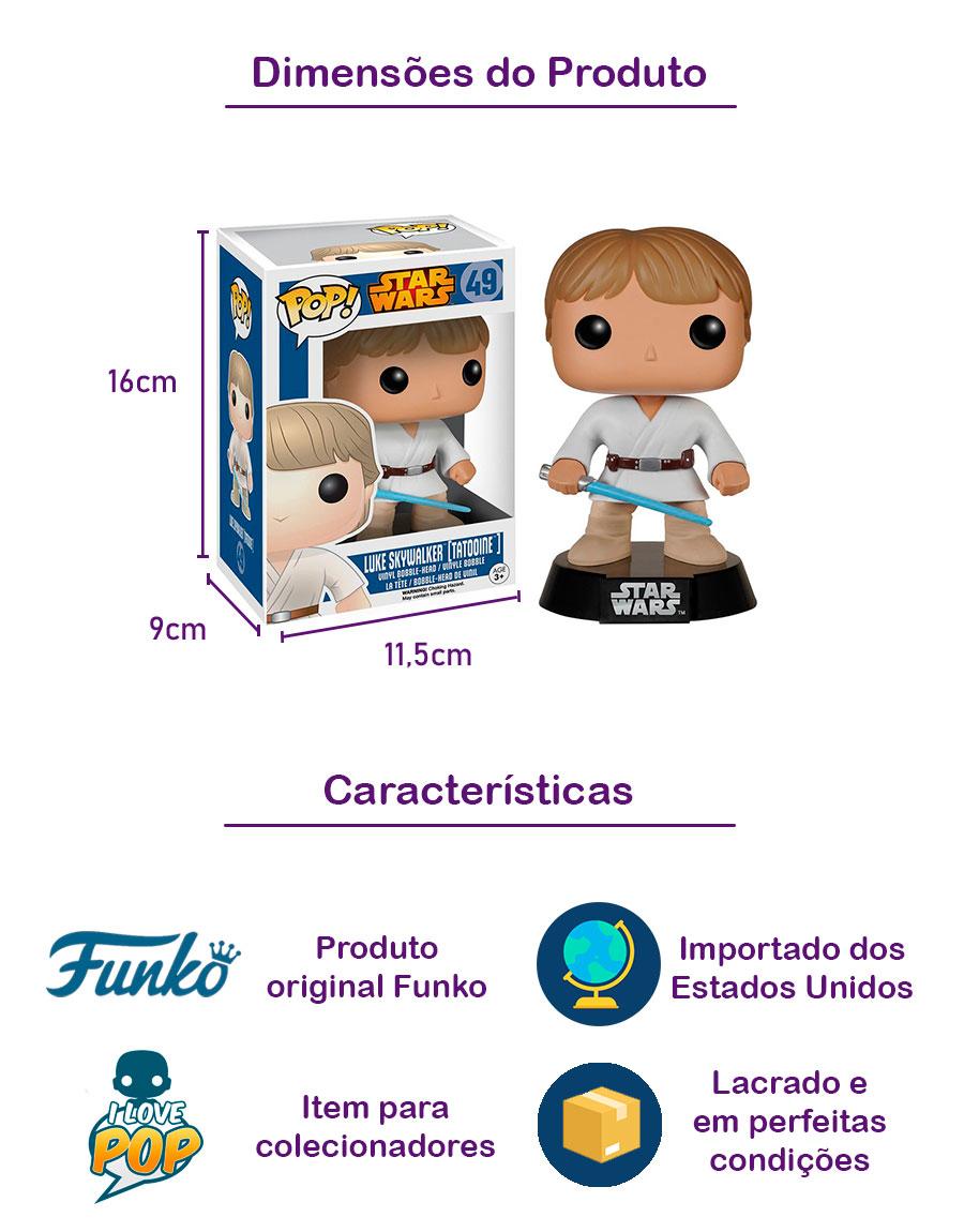Funko POP Luke Skywalker 93