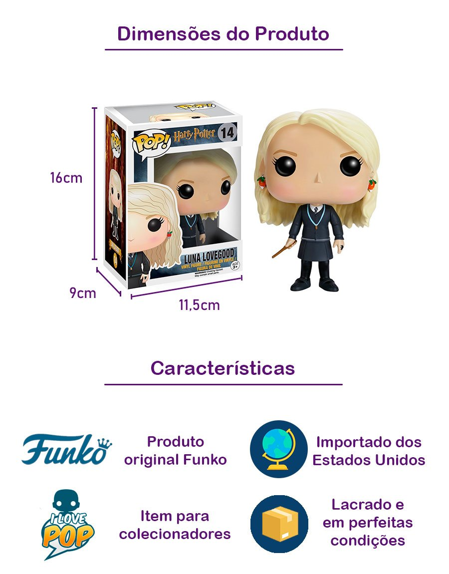 Funko POP Luna Lovegood 14
