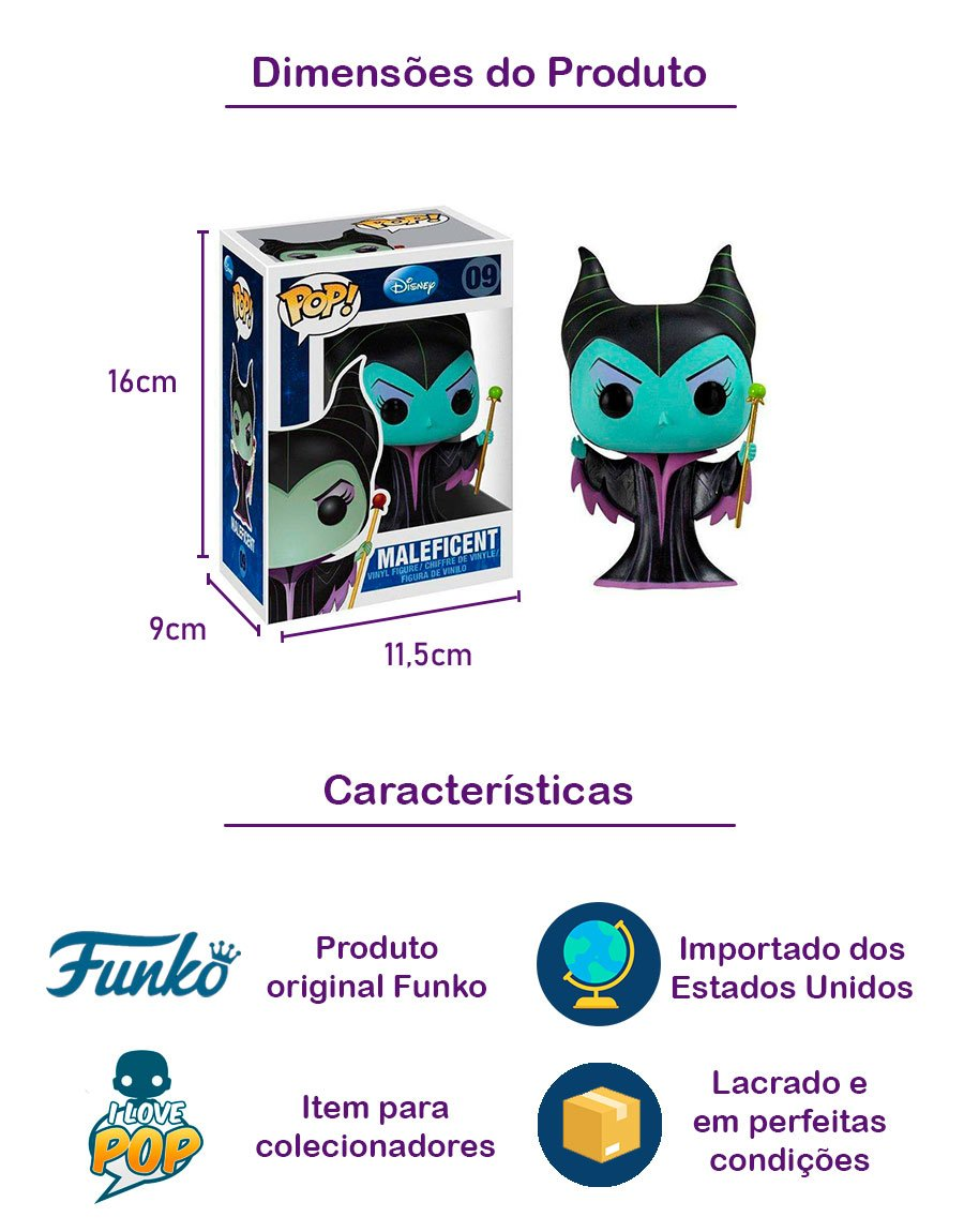Funko POP Maleficent 09