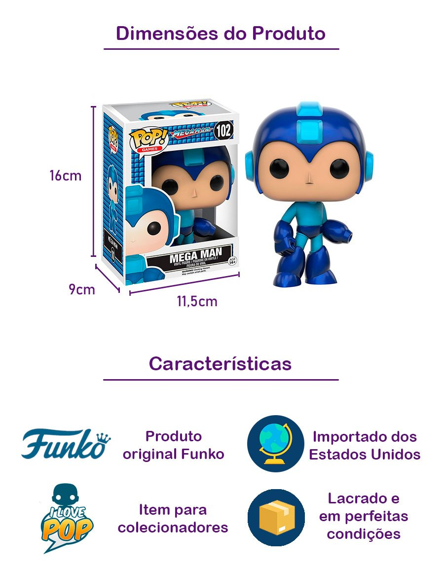 Funko POP Mega Man 102