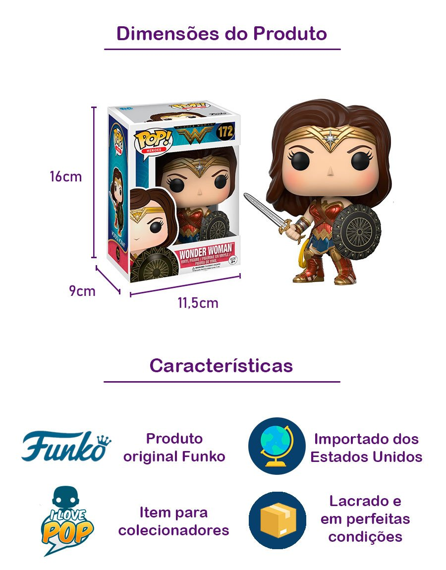 Funko POP Wonder Woman 172