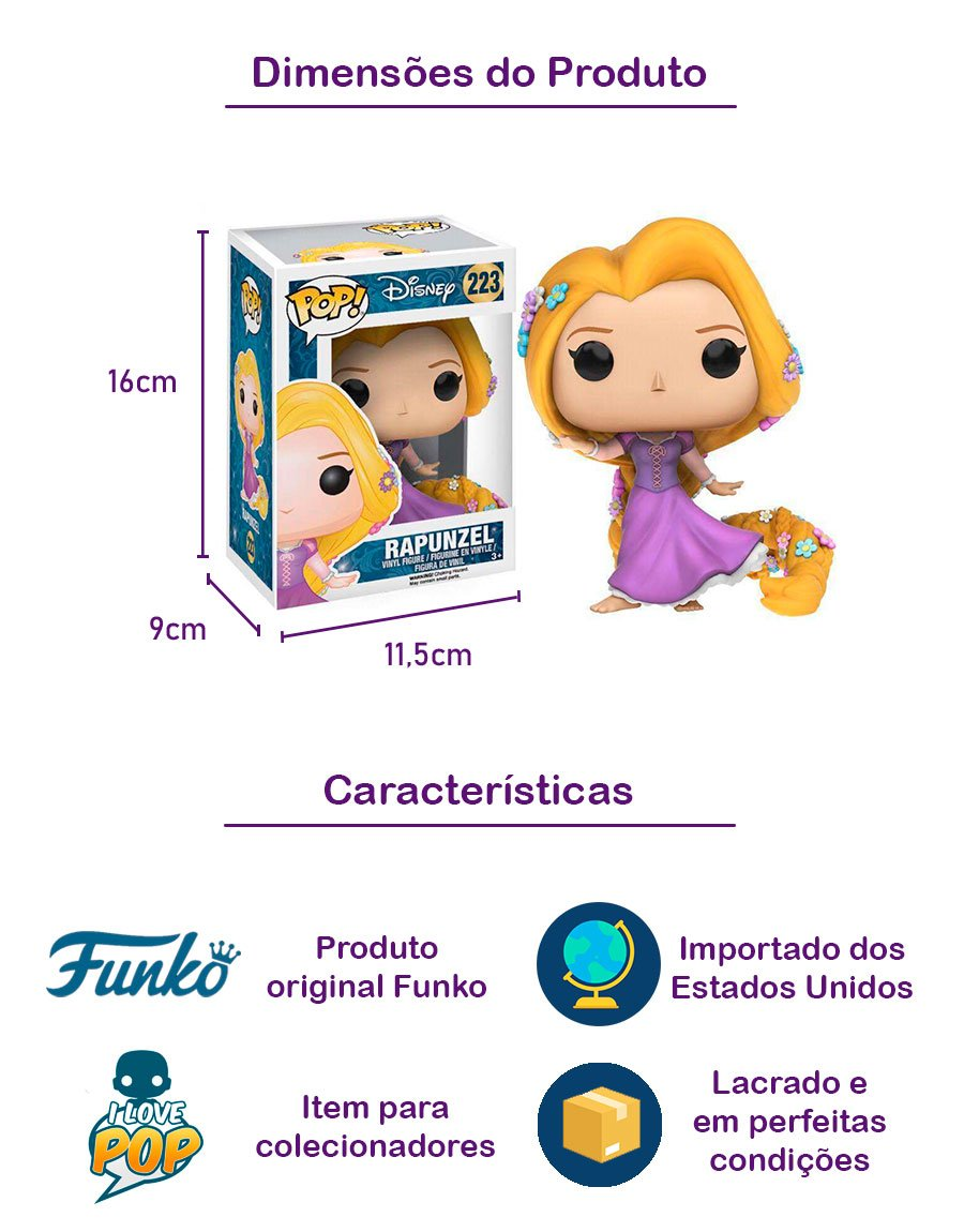 Funko POP Rapunzel 223
