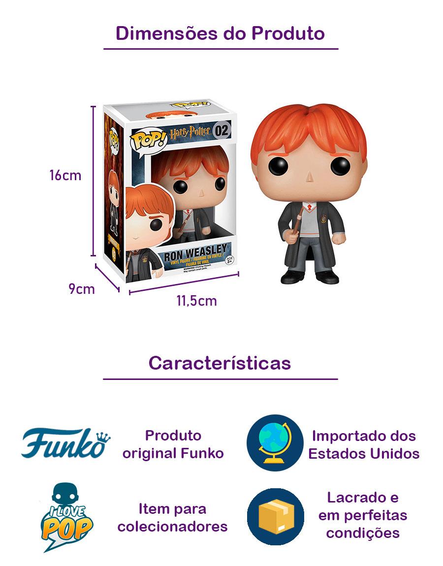 Funko POP Rony Weasley 02