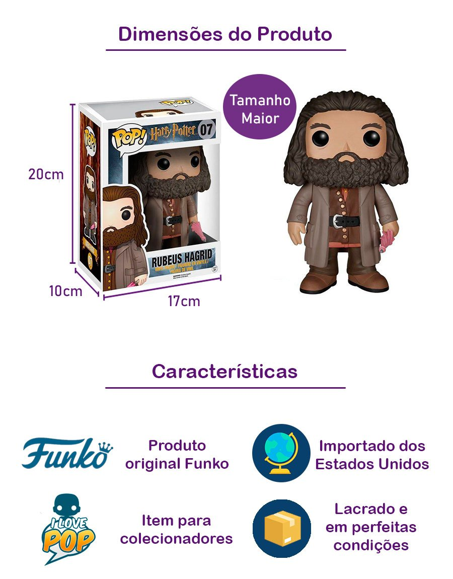 Funko POP Rubeus Hagrid 07