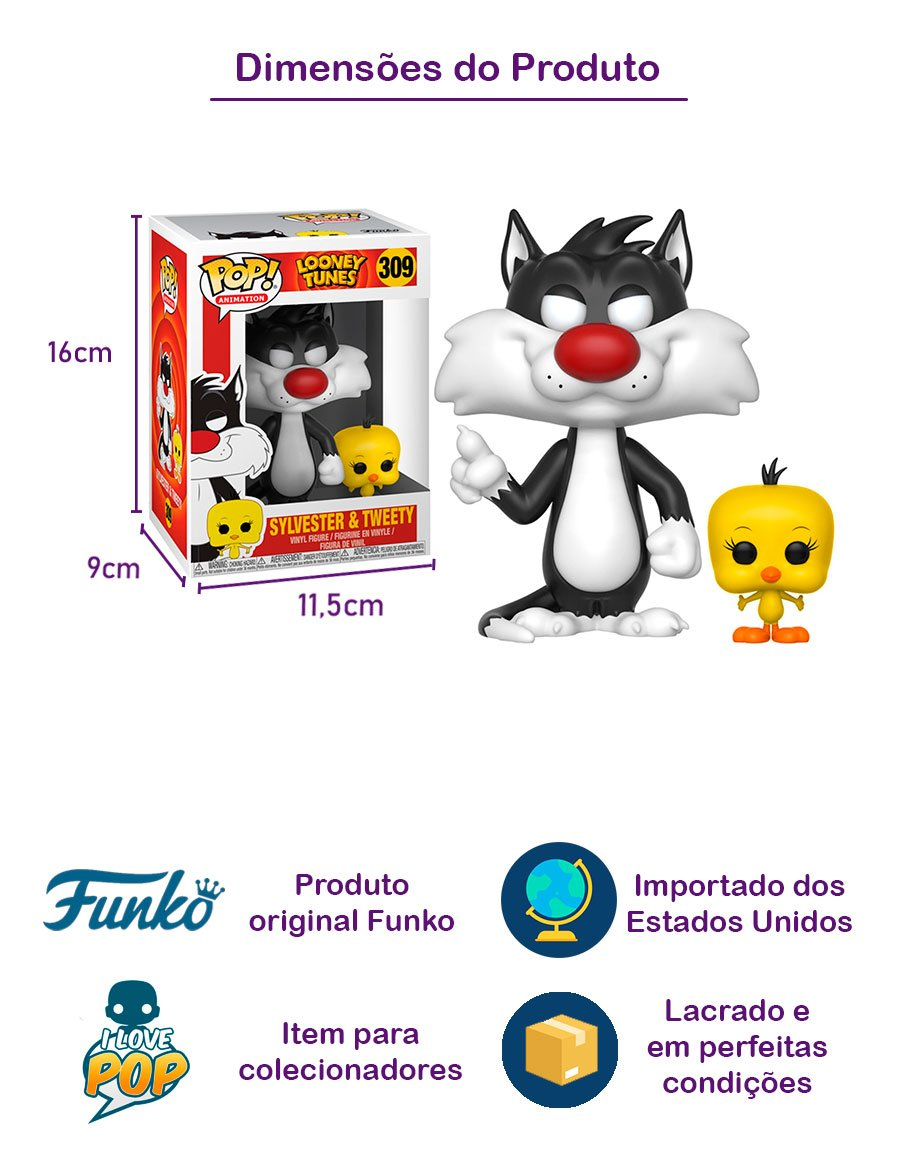 Funko POP Sylvester & Tweety 309