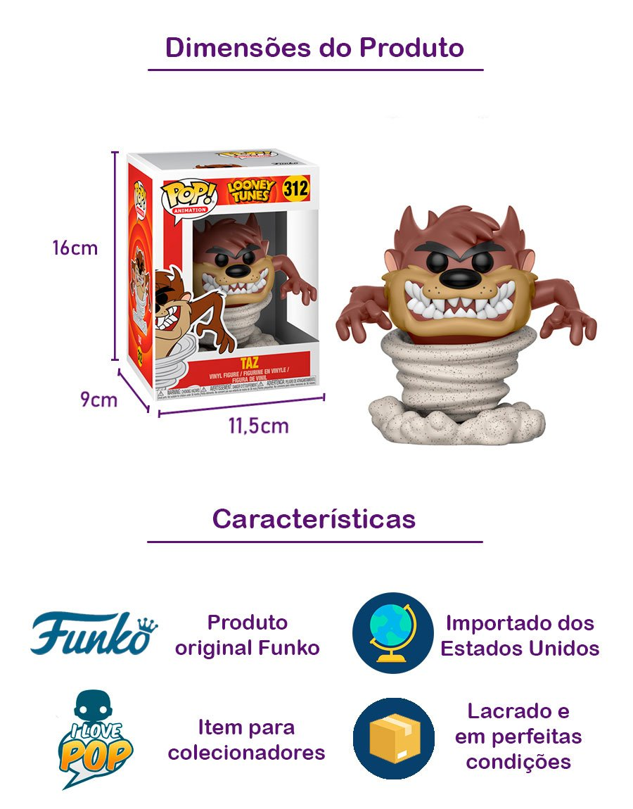 Funko POP Taz 312