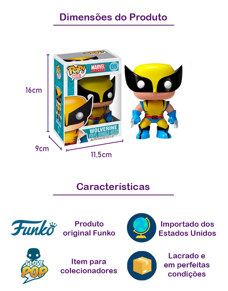 Funko POP Wolverine 05