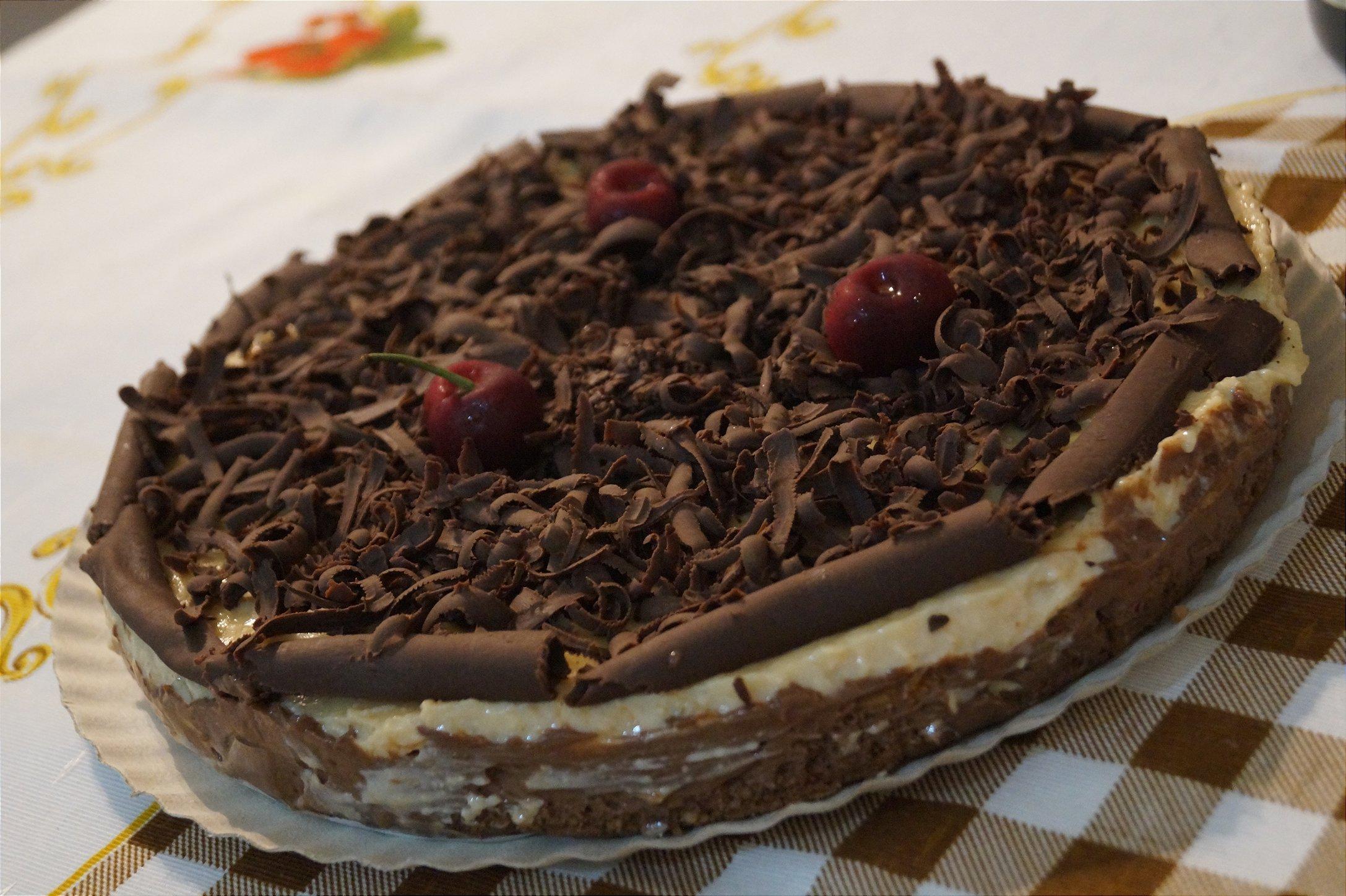 Torta Creme e Chocolate