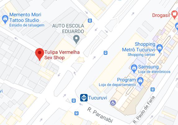 tulipa vermelha sexshop - unidade tucuruvi
