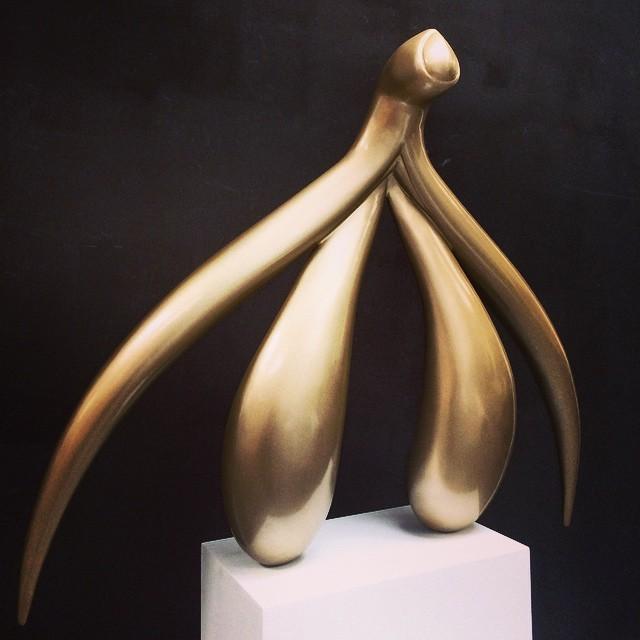 escultura do clitóris
