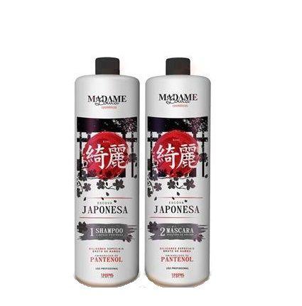 881e25513 Escova Progressiva Japonesa Madame Louca 2x1 litro
