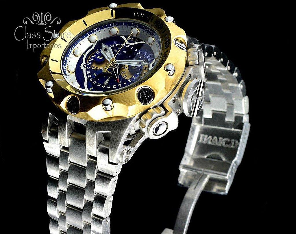 efbc9c15bdf ... Relógio Invicta Reserve Venom 16808 Hybrid Prata Suíço Cronógrafo  Calendário Triplo - Imagem 3 ...
