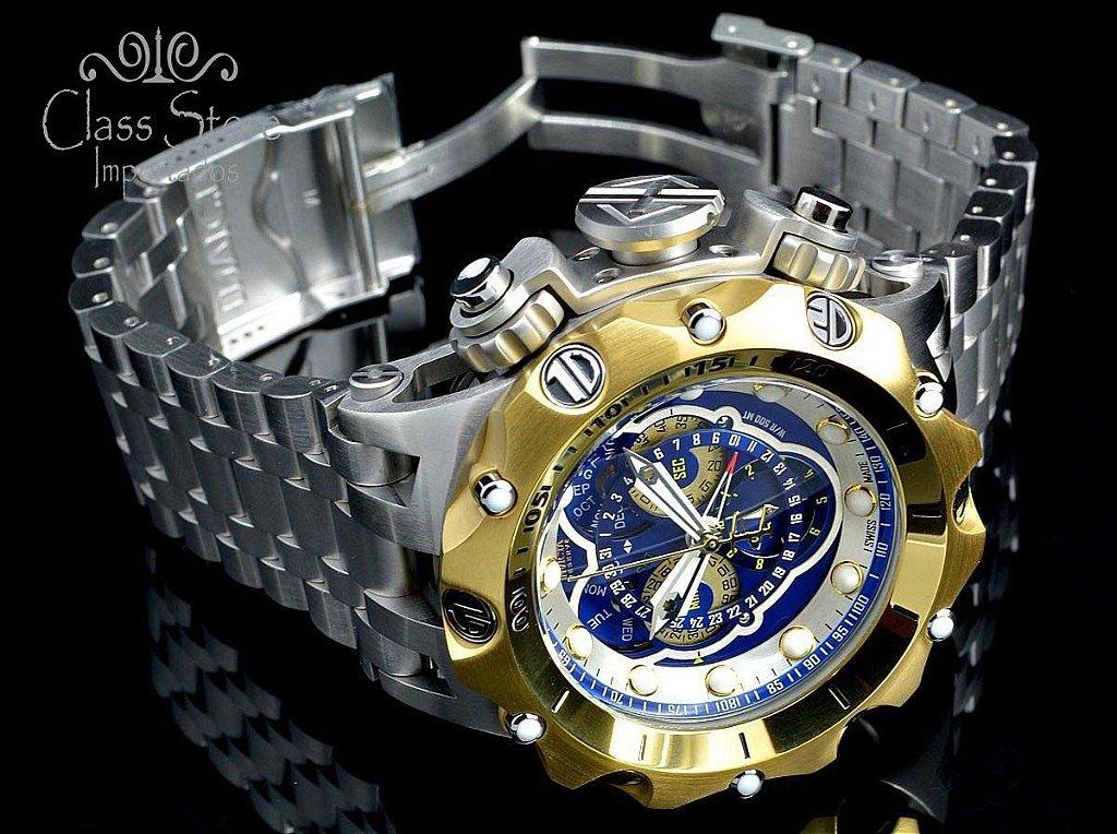f8abb4bec69 ... Relógio Invicta Reserve Venom 16808 Hybrid Prata Suíço Cronógrafo  Calendário Triplo - Imagem 4 ...
