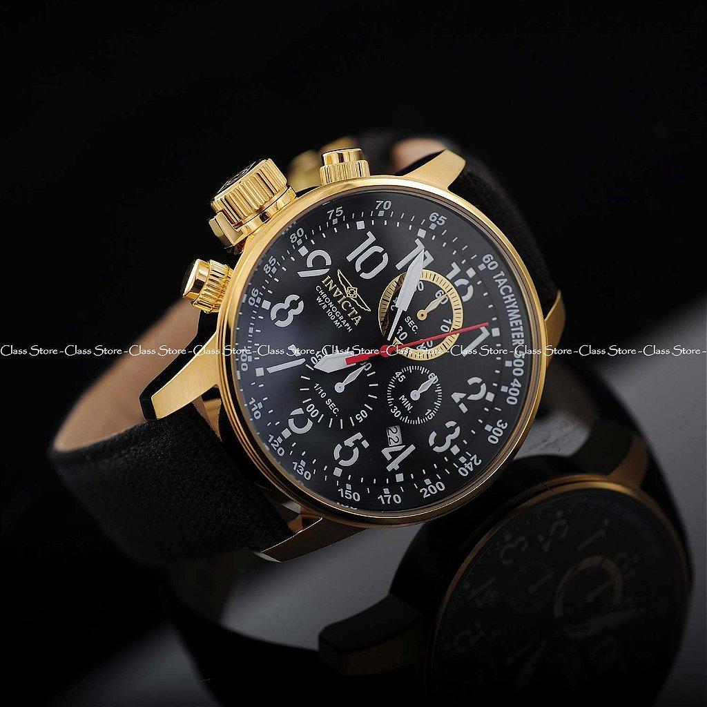 9ea82743031 ... Relógio Invicta I-Force 1515 Banhado a Ouro 18k Cronógrafo - Imagem 3  ...