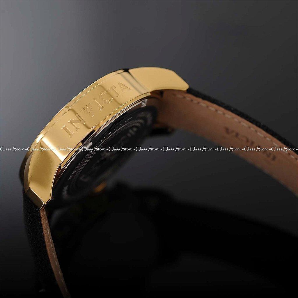 62be44b1df9 ... Relógio Invicta I-Force 1515 Banhado a Ouro 18k Cronógrafo - Imagem 8  ...