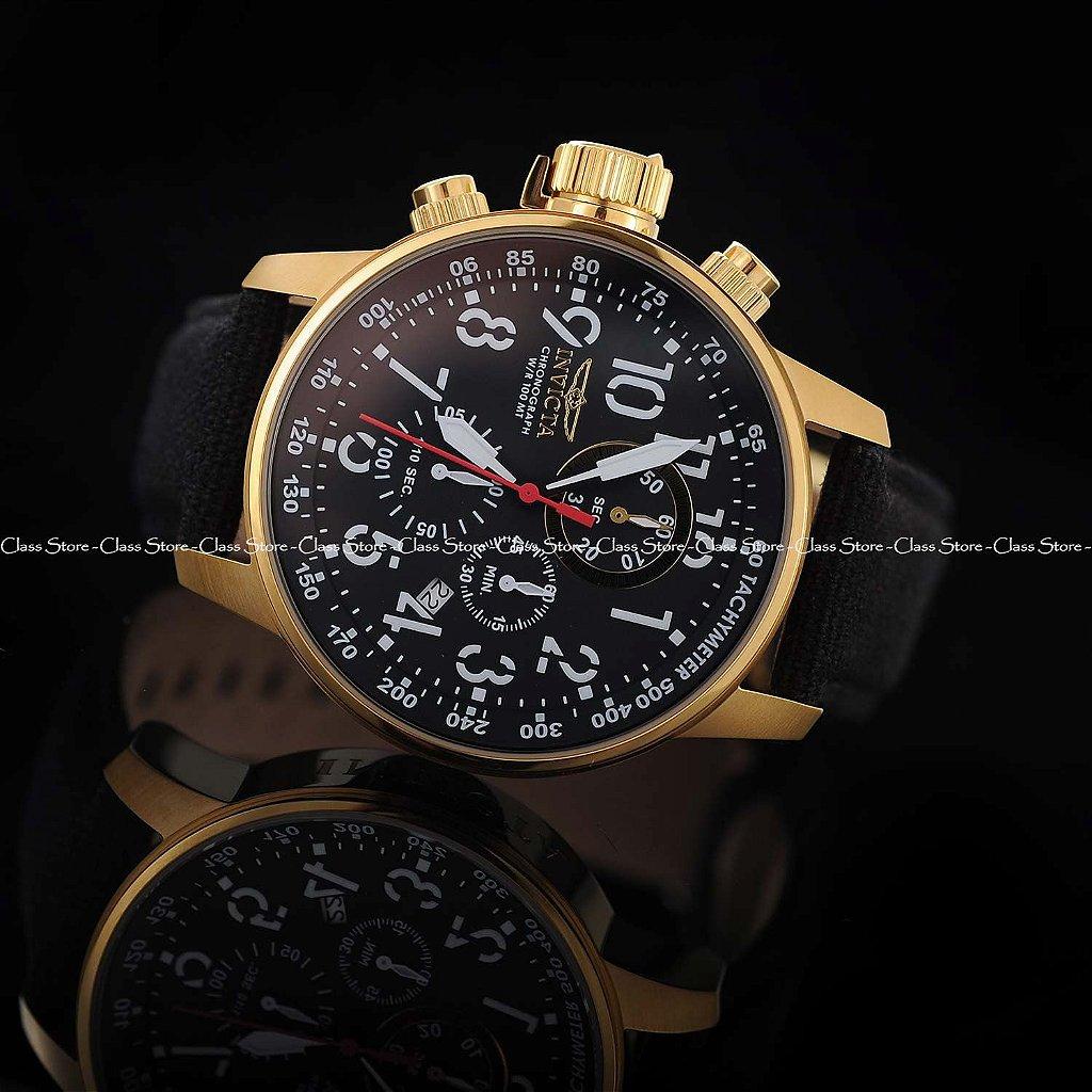 6d7a048b7e9 ... Relógio Invicta I-Force 1515 Banhado a Ouro 18k Cronógrafo - Imagem 5  ...