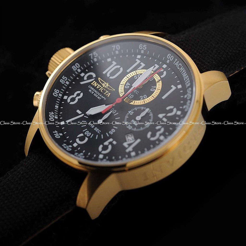 38f33fca66c ... Relógio Invicta I-Force 1515 Banhado a Ouro 18k Cronógrafo - Imagem 2  ...