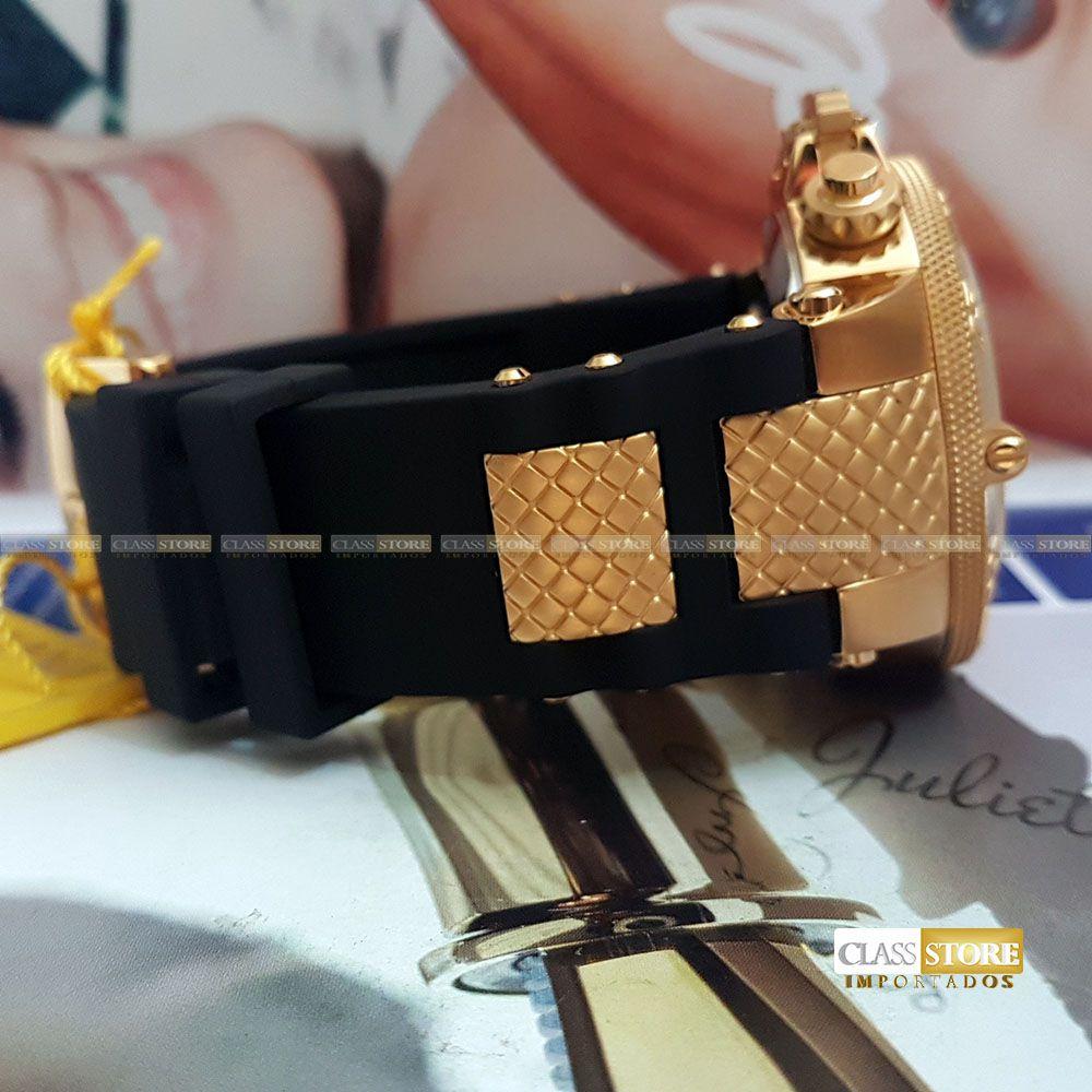666233220e3 ... Relógio Invicta 15802 Subaqua Noma 3 Masculino Mostrador Dourado  texturizado Cronógrafo Suíço - Imagem 7 ...