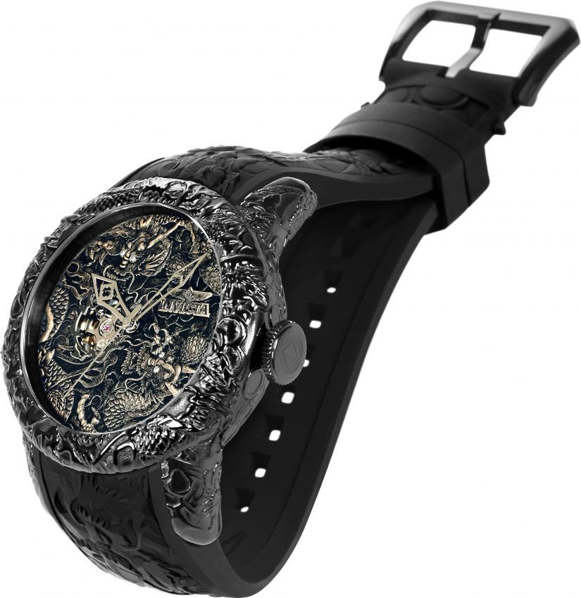 3fe25be39f5ea ... Relógio Invicta 25081 Empire Dragon 50mm Automático Vidro de Safira -  Imagem 2 ...