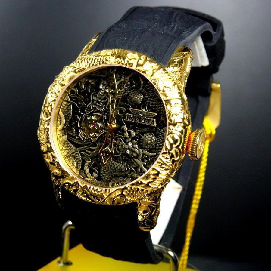bf4b4ac255f40 ... Relógio Invicta 25082 S1 Rally Empire Dragon 50mm Automático Vidro de  Safira - Imagem 5 ...