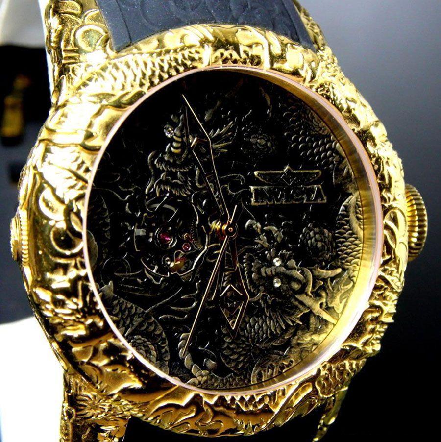9842f3121380a ... Relógio Invicta 25082 S1 Rally Empire Dragon 50mm Automático Vidro de  Safira - Imagem 4 ...