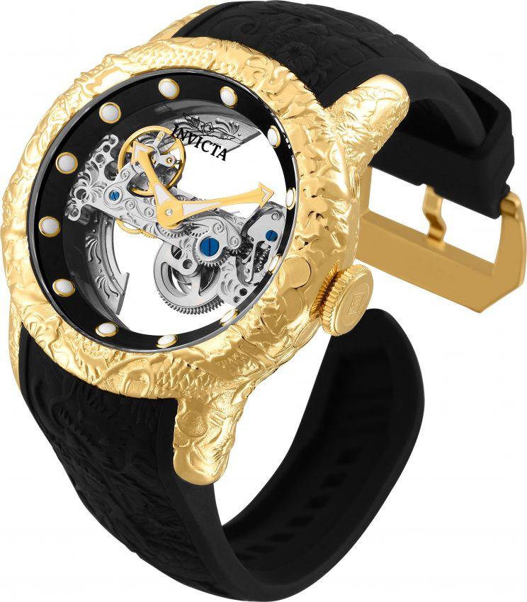 506054ce895cf ... Relógio Invicta 26287 S1 Rally Empire Dragon 50mm Automático Vidro de  Safira Mostrador e Fundo Transparente ...