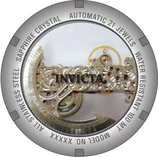616787654a5b1 ... Relógio Invicta 26287 S1 Rally Empire Dragon 50mm Automático Vidro de  Safira Mostrador e Fundo Transparente