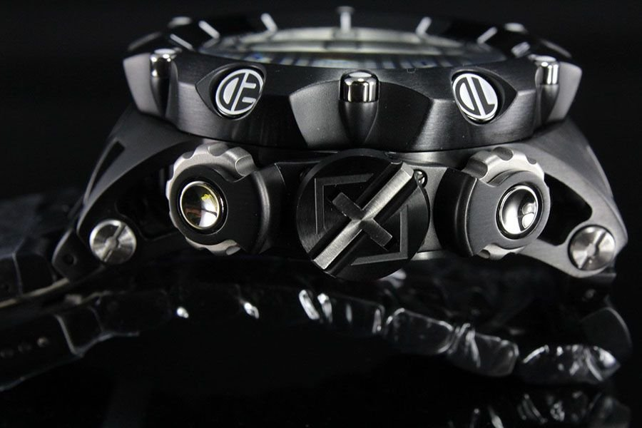 d59cb2fa2cf ... Relógio Invicta Reserve Venom 20421 Hybrid Preto Cronógrafo Calendário  Triplo Suíço - Imagem 5 ...