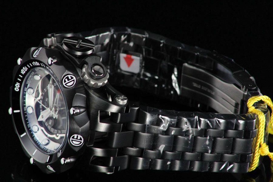 8373fc63a97 ... Relógio Invicta Reserve Venom 20421 Hybrid Preto Cronógrafo Calendário  Triplo Suíço - Imagem 2 ...