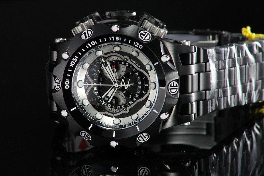 87221468bbc ... Relógio Invicta Reserve Venom 20421 Hybrid Preto Cronógrafo Calendário  Triplo Suíço - Imagem 6