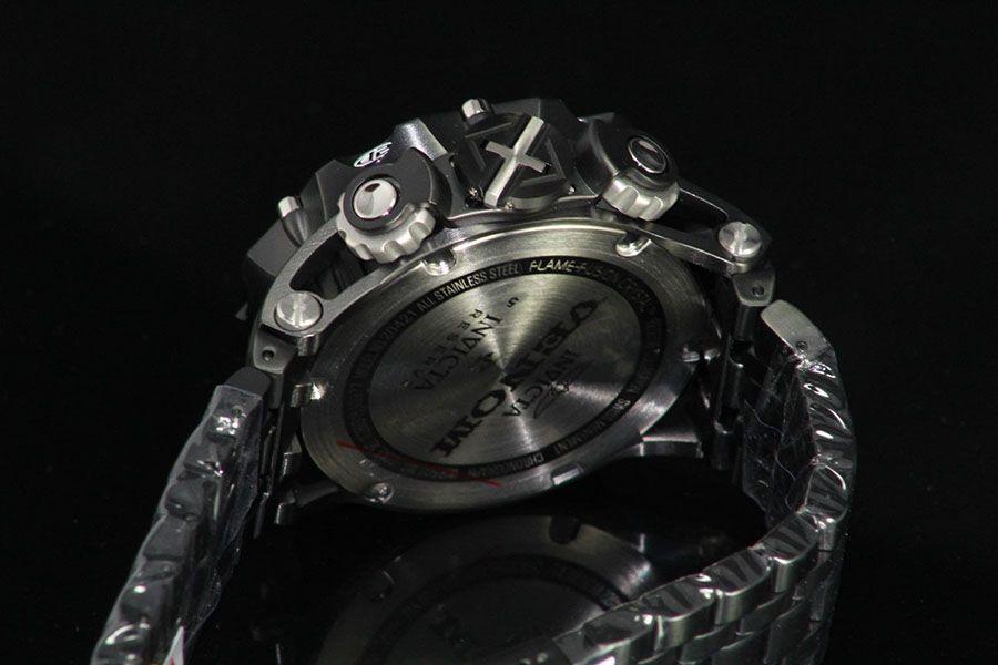 7d05d53078f ... Relógio Invicta Reserve Venom 20421 Hybrid Preto Cronógrafo Calendário  Triplo Suíço - Imagem 3 ...