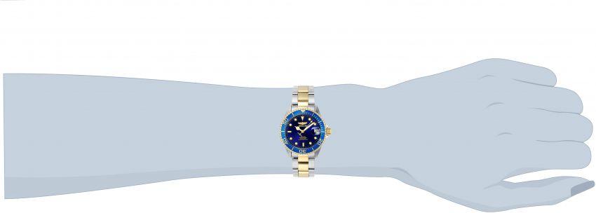 7351ca6fda2 ... Relógio INVICTA 8928OB Pro Diver Automático 40mm Banho Misto Prata e  Ouro Mostrador Azul - Imagem