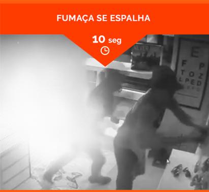 FUMAÇA SE ESPALHA