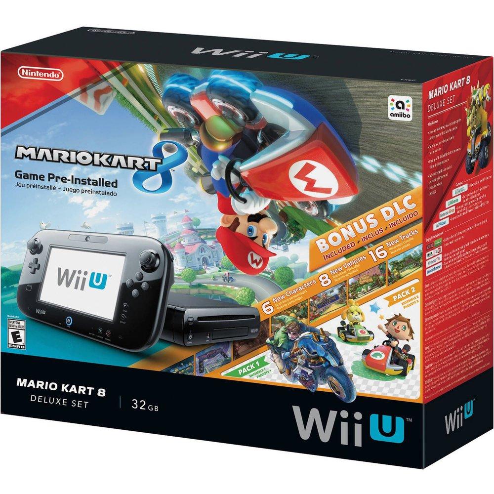 Console Nintendo Wii U 32GB Deluxe + Mario Kart 8