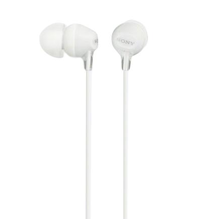 Fone de Ouvido Sony Intra-Auricular com Microfone MDREX15AP - Branco