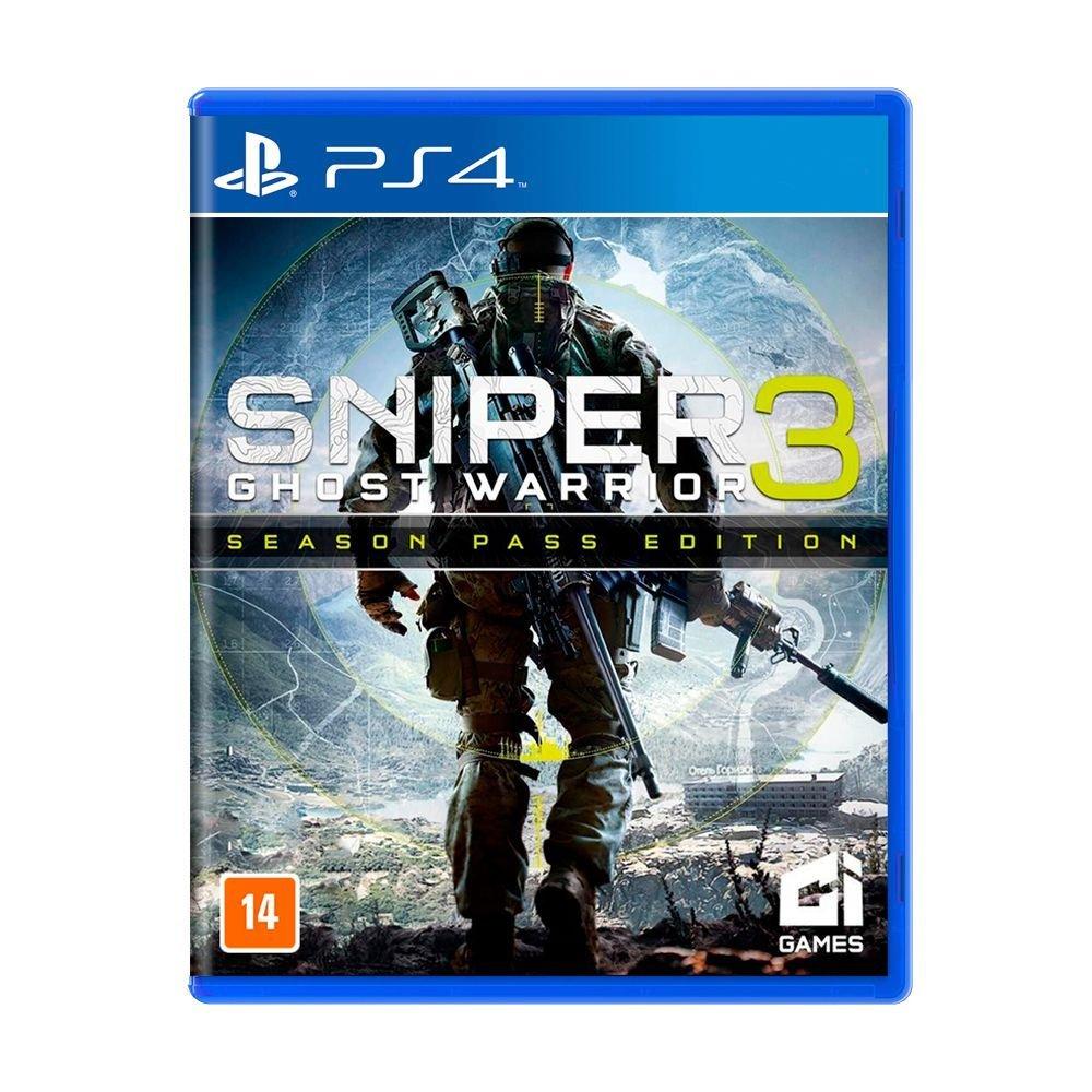 Jogo Sniper: Ghost Warrior 3 (Season Pass Edition) - PS4