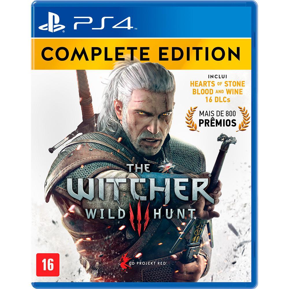 Jogo The Witcher III Wild Hunt: Edição Completa - PS4