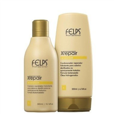 FELPS KIT DUO HOME XREPAIR - SHAMPOO 300ML / CONDICIONADOR 200ML
