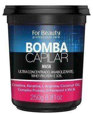 FOR BEAUTY - BOMBA CAPILAR MÁSCARA - 250g
